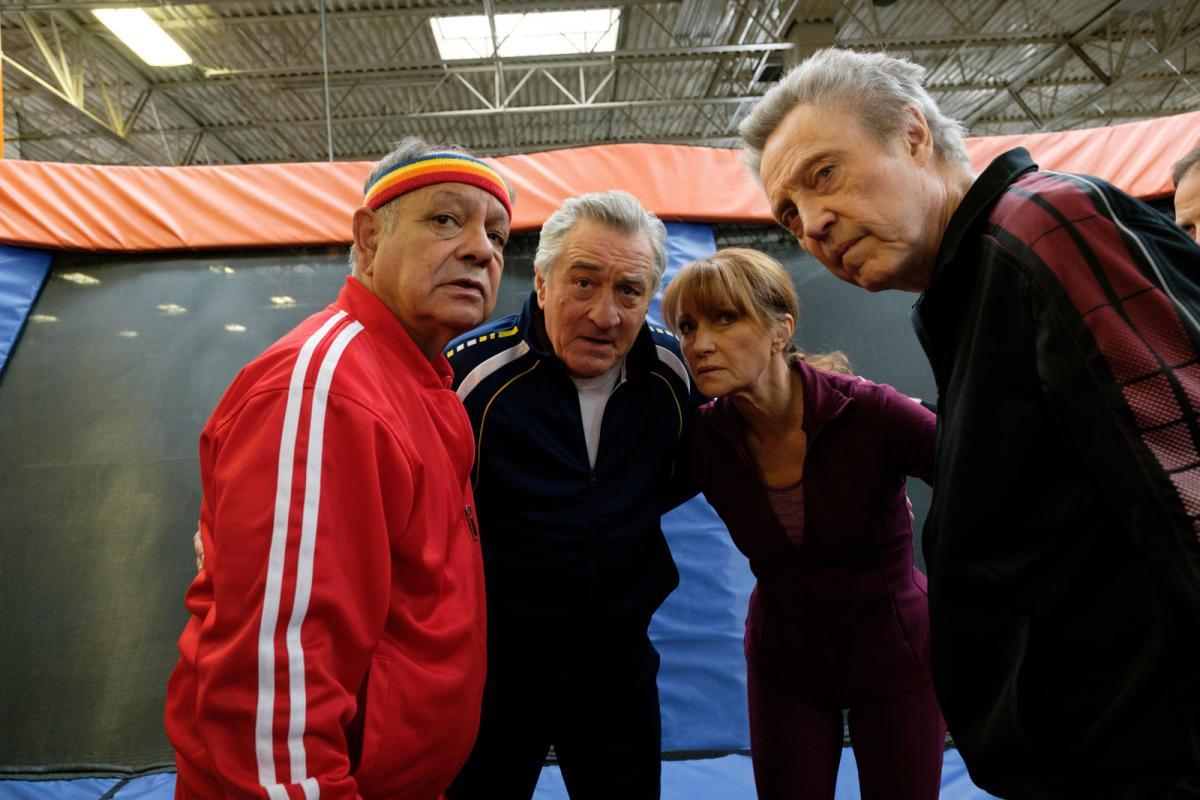 """תמונה של צ'יץ מרין עם כריסטופר ווקן, ג'יין סימור, רוברט דה נירו מתוך """"מלחמה עם סבא"""""""