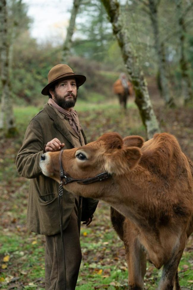 """""""פרה ראשונה"""". ג'ון מגרו."""