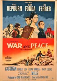 מלחמה ושלום - כרזה
