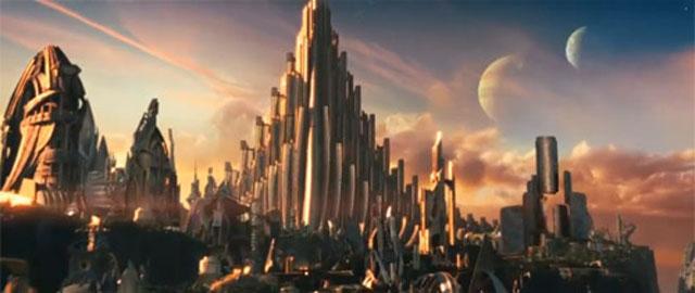 """הטירה ב""""ת'ור""""."""