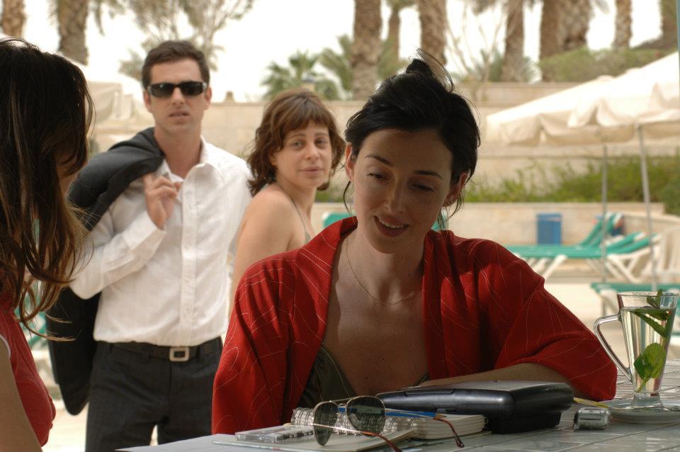 """תמונה של ליאת גליק עם יפתח קליין, יעל רייך מתוך """"מלח ים"""""""