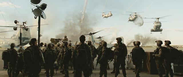 """""""פלישה עולמית: הקרב על לוס אנג'לס""""."""