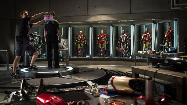 """""""איירון מן 3"""". רוברט דאוני ג'וניור."""