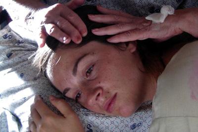 """""""ביקור חולים"""". טלי שרון."""