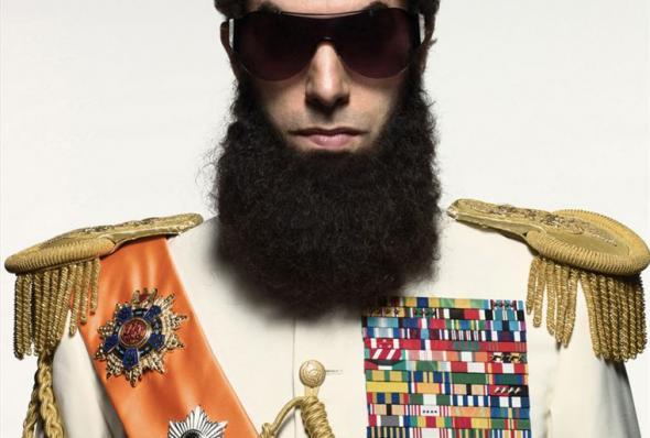 """""""הדיקטטור"""". סשה ברון כהן."""