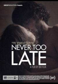 אף פעם לא מאוחר מדי - כרזה