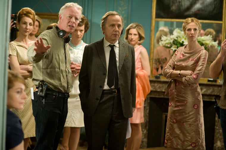 """תמונה של פיליפ לה גה עם פבריס לוקיני מתוך """"הנשים בקומה ה-6"""""""