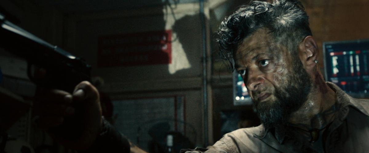 """תמונה של אנדי סרקיס מתוך """"הנוקמים 2: עידן אולטרון"""""""