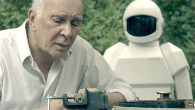 """""""רובוט ופרנק"""". פרנק לנג'לה."""