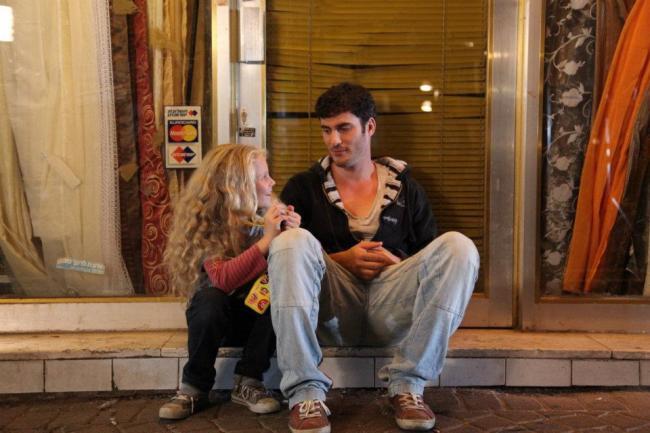 """""""10% ילדה שלי"""". אודי פרסי, יהלי פרידמן."""