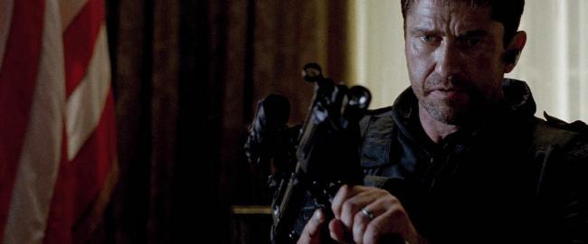 """""""המטרה: הבית הלבן"""". ג'ררד באטלר."""