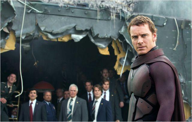 """""""אקס-מן: העתיד שהיה"""". מייקל פסבנדר."""