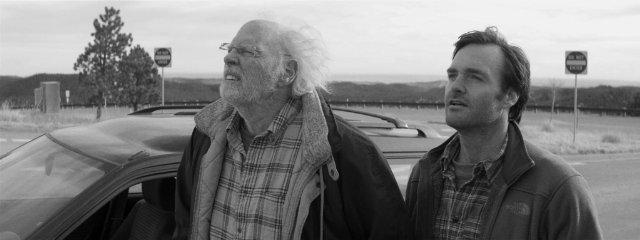 """תמונה של וויל פורטה עם ברוס דרן מתוך """"נברסקה"""""""
