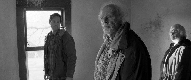 """תמונה של ברוס דרן עם וויל פורטה, ג'ון סקוויב מתוך """"נברסקה"""""""