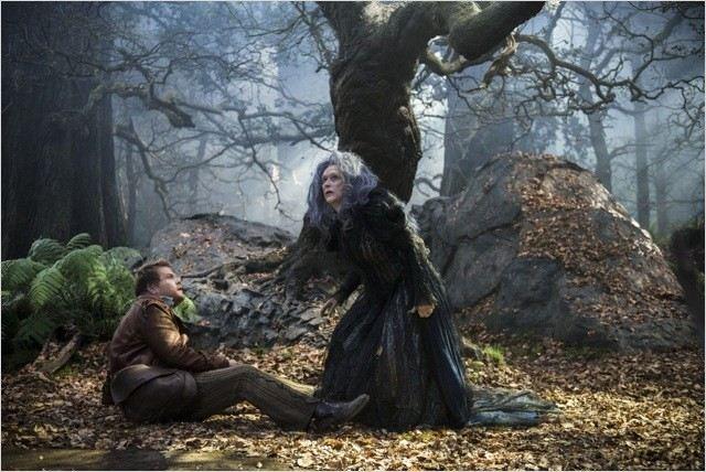 """תמונה של ג'יימס קורדן עם מריל סטריפ מתוך """"אל תוך היער"""""""