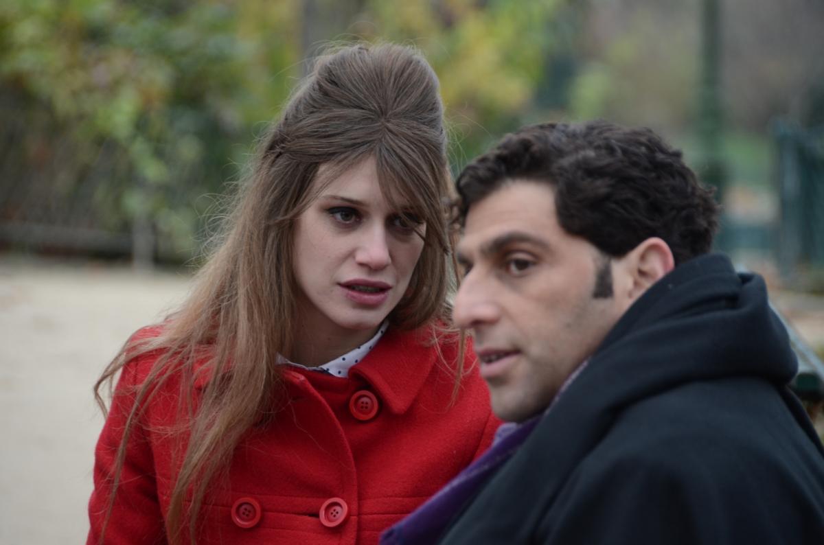 """תמונה של דניאלה קרטס עם יוסי מרשק מתוך """"מבצע חמניה"""""""
