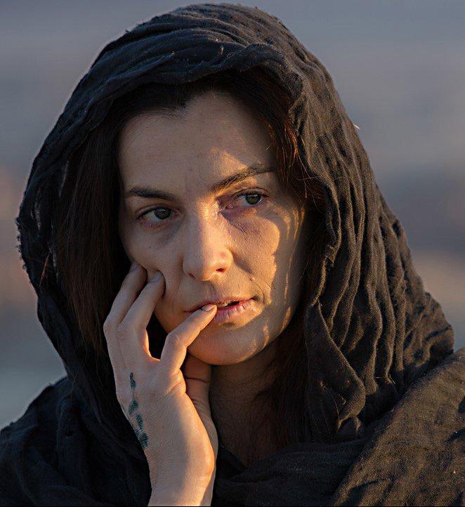 """תמונה של איילת זורר מתוך """"הימים האחרונים במדבר"""""""