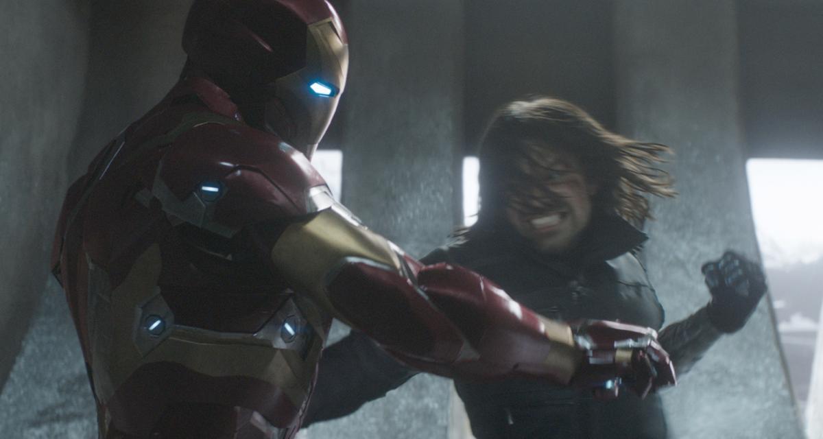 """תמונה של סבסטיאן סטן מתוך """"קפטן אמריקה 3: מלחמת האזרחים"""""""