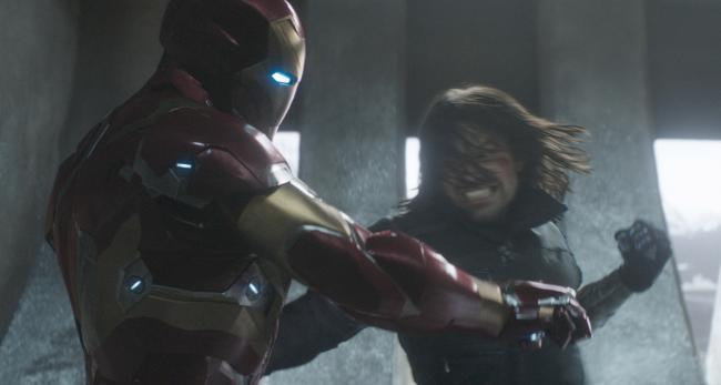 """""""קפטן אמריקה 3: מלחמת האזרחים"""". סבסטיאן סטן."""