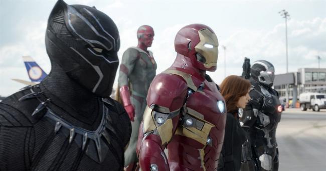"""""""קפטן אמריקה 3: מלחמת האזרחים""""."""