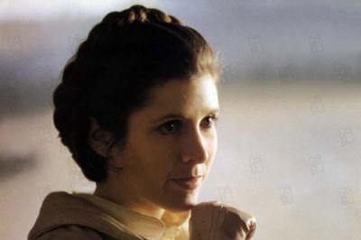 """תמונה של קארי פישר מתוך """"מלחמת הכוכבים: פרק 5 - האימפריה מכה שנית"""""""