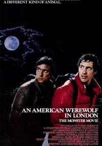 זאב אמריקאי בלונדון - כרזה