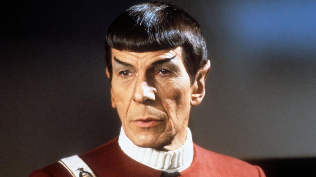 """תמונה של לאונרד נימוי מתוך """"מסע בין כוכבים 2: זעמו של חאן"""""""