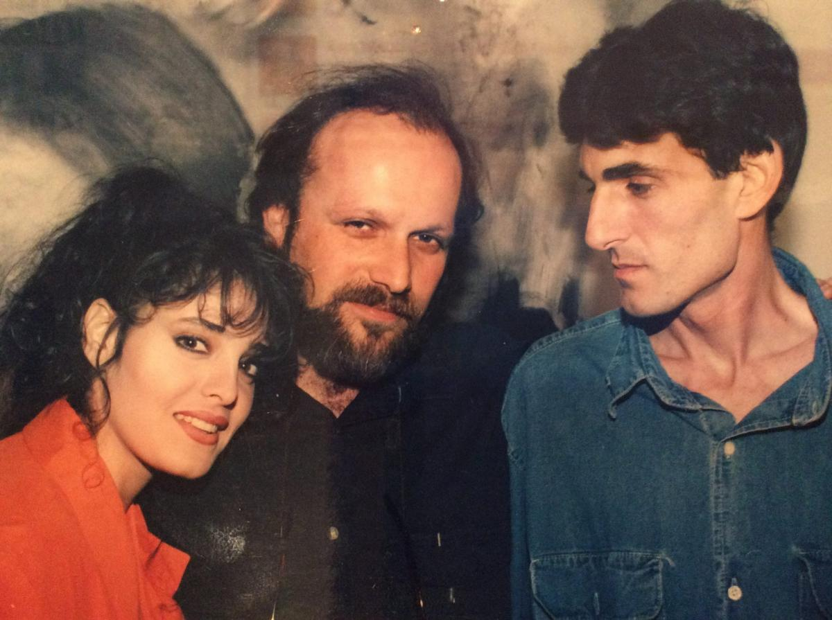 """תמונה של דפנה דקל עם ערן ריקליס, שאול מזרחי מתוך """"זהר"""""""