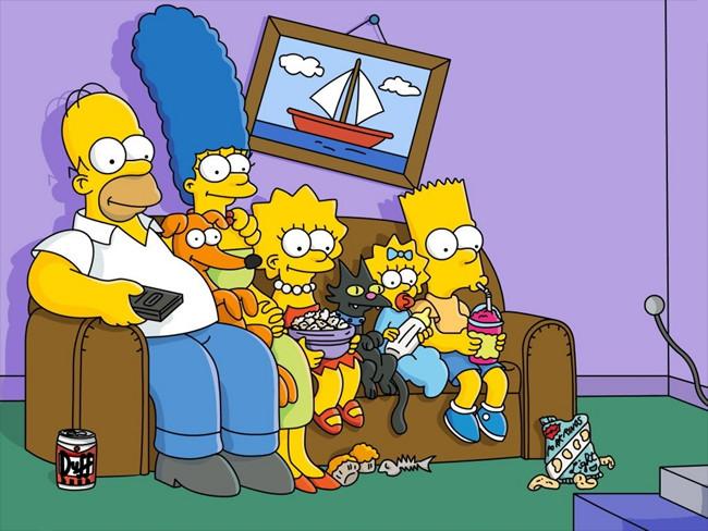 """""""משפחת סימפסון""""."""
