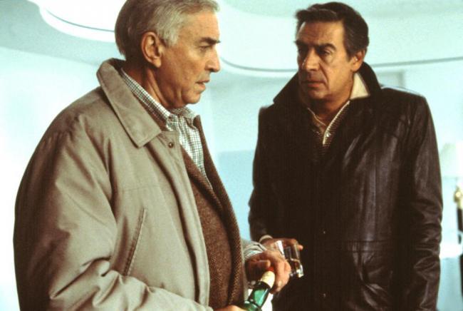 """""""פשעים ועבירות קלות"""". ג'רי אורבך, מרטין לנדאו."""