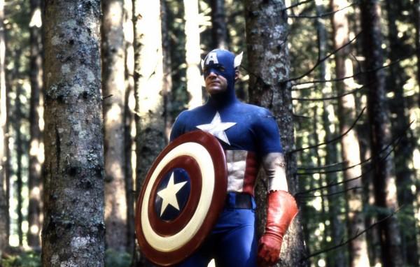 """""""קפטן אמריקה"""". מאט סלינג'ר. צילום: יוני המנחם."""