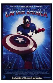 קפטן אמריקה - כרזה