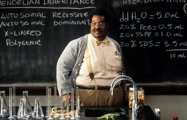 """""""הפרופסור המטורף"""". אדי מרפי."""