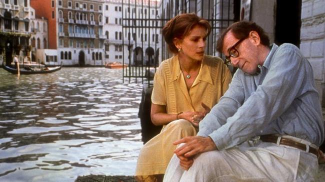 """""""כולם אומרים אני אוהב אותך"""". וודי אלן, ג'וליה רוברטס."""