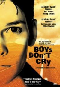 בנים אינם בוכים - כרזה