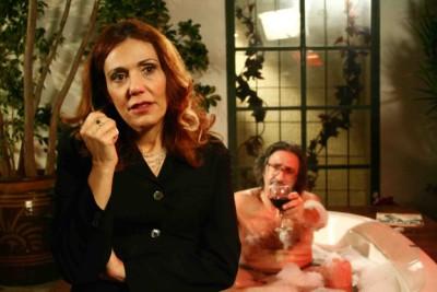 """תמונה של ענת ברזילי עם מאיר סוויסה מתוך """"הכתובה"""""""