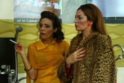 """תמונה של ענת ברזילי עם פזית ירון מינקובסקי מתוך """"הכתובה"""""""